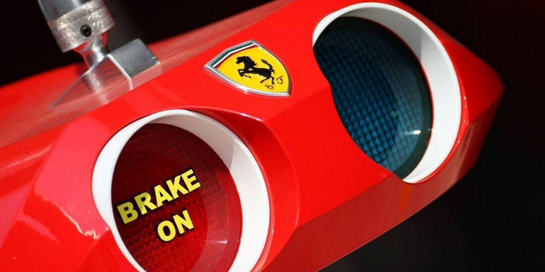 Boxenampel Ferrari - Formel 1 - GP Indien - 25. Oktober 2012