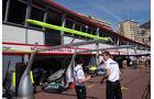 Boxengasse - GP Monaco - 23. Mai 2012