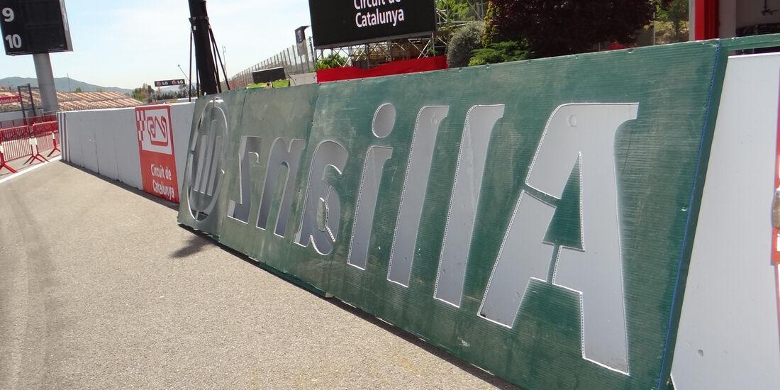 Boxengasse - GP Spanien - 10. Mai 2012