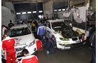 Boxengasse VLN Langstreckenmeisterschaft Nürburgring