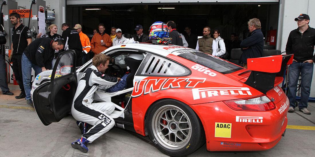 Boxengasse, VLN, Porsche 911 GT3 Cup 997, Dörr Motorsport, #051