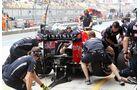 Boxenstopp Red Bull  - Formel 1 - GP China - 14. April 2012