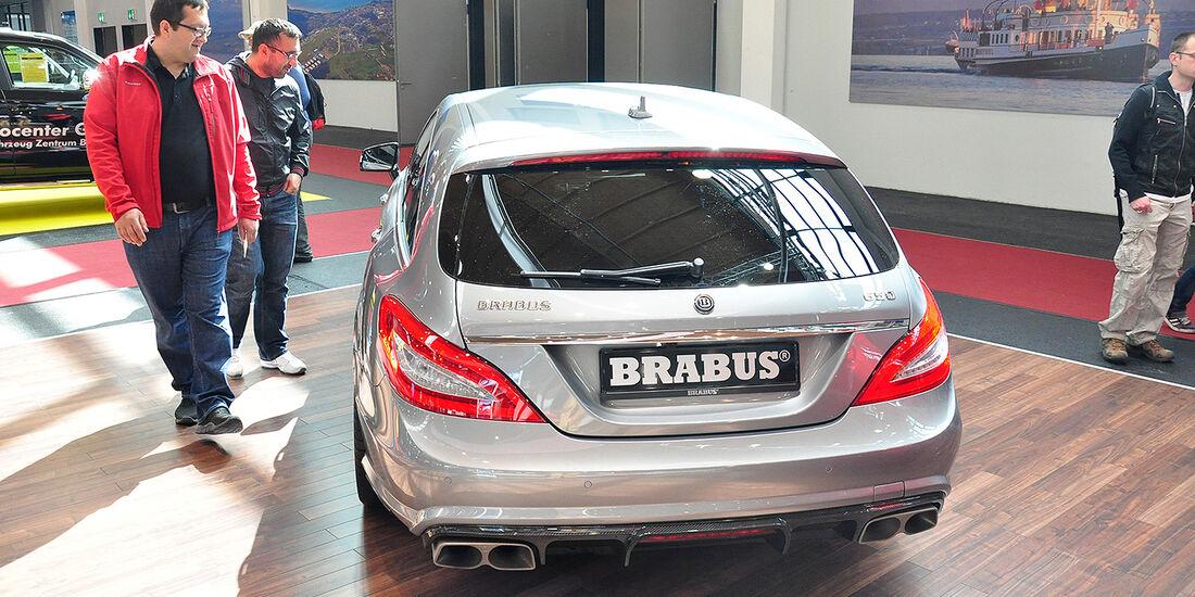 Brabus 650 - CLS 63 AMG 4matic Shooting Brake, Tuning World Bodensee 2014