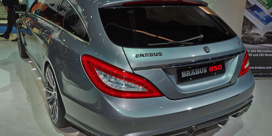 Brabus 850 Biturbo, Tuner, Mercedes CLS Shootingbrake
