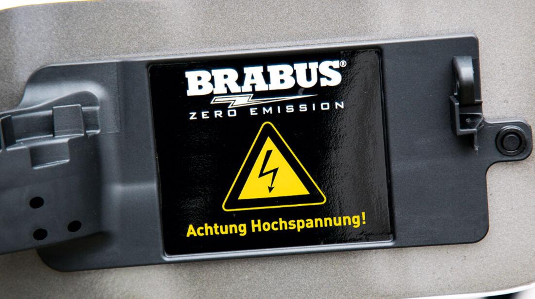 Brabus E4WD Full Electric, Bildschirmanzeige