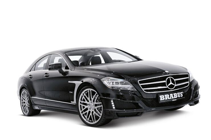 Brabus, Mercedes CLS, Tuningprogramm, Sportfahrwerk