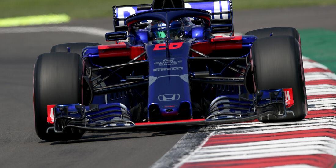 Brendon Hartley - GP Mexiko 2018