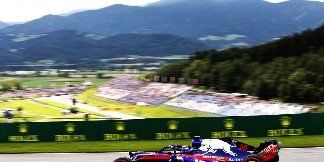 Brendon Hartley - Toro Rosso - Formel 1 - GP Österreich - 29. Juni 2018