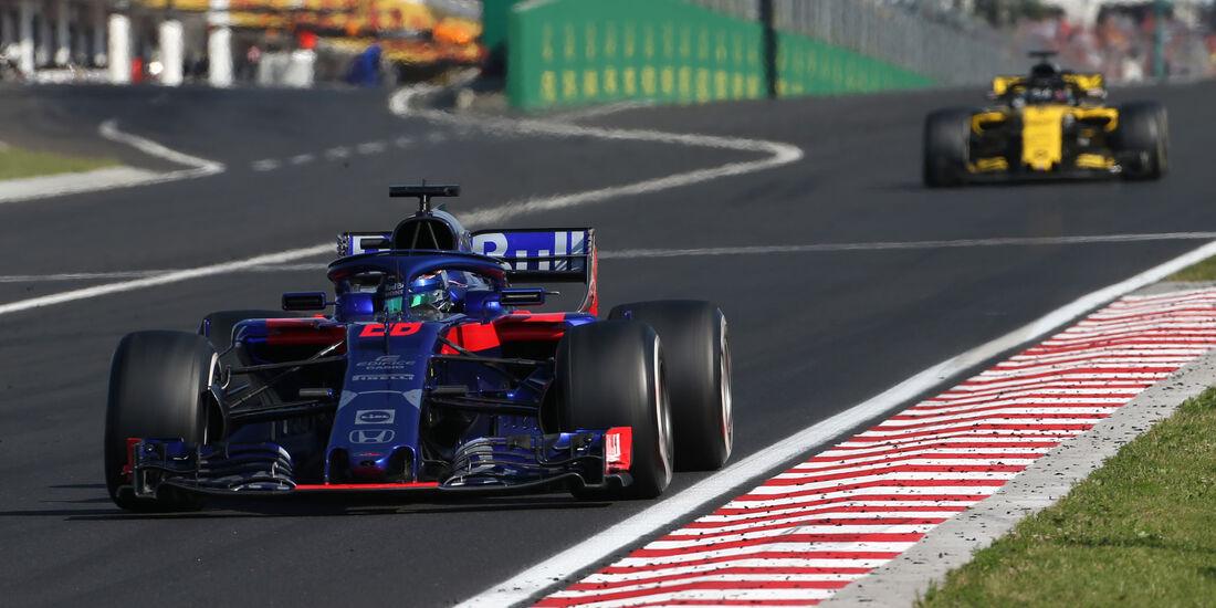 Brendon Hartley - Toro Rosso - GP Ungarn 2018 - Rennen
