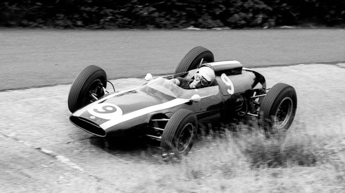 Bruce McLaren - Cooper T60 - GP Deutschland 1962 - Nürburgring