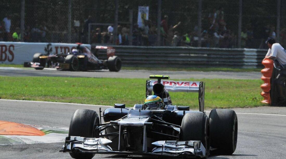 Bruno Senna - Formel 1 - GP Italien - 09. September 2012