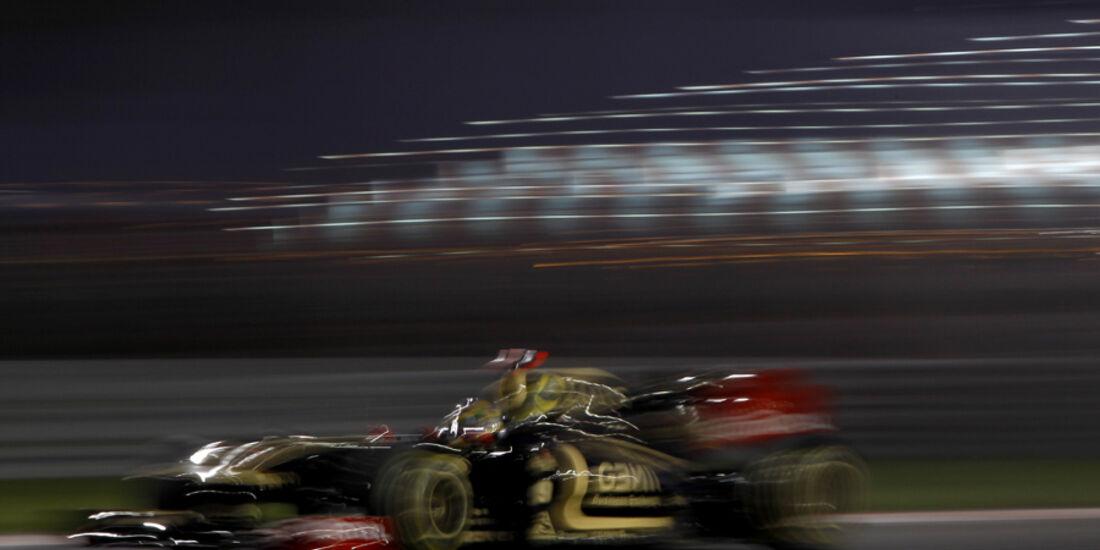 Bruno Senna GP Abu Dhabi 2011