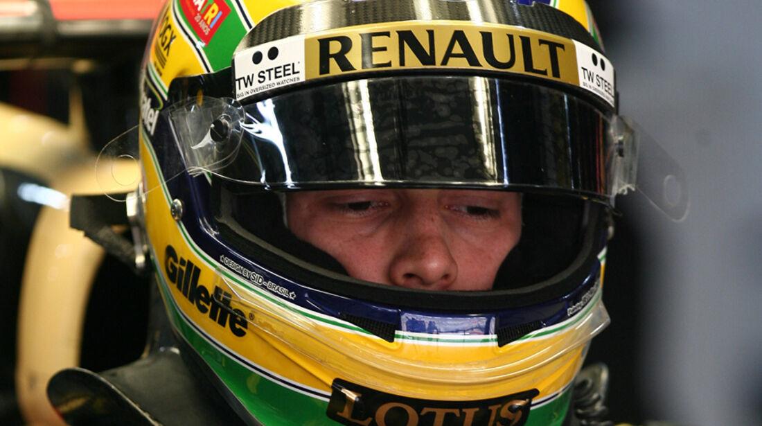 Bruno Senna - GP Indien - Training - 28.10.2011