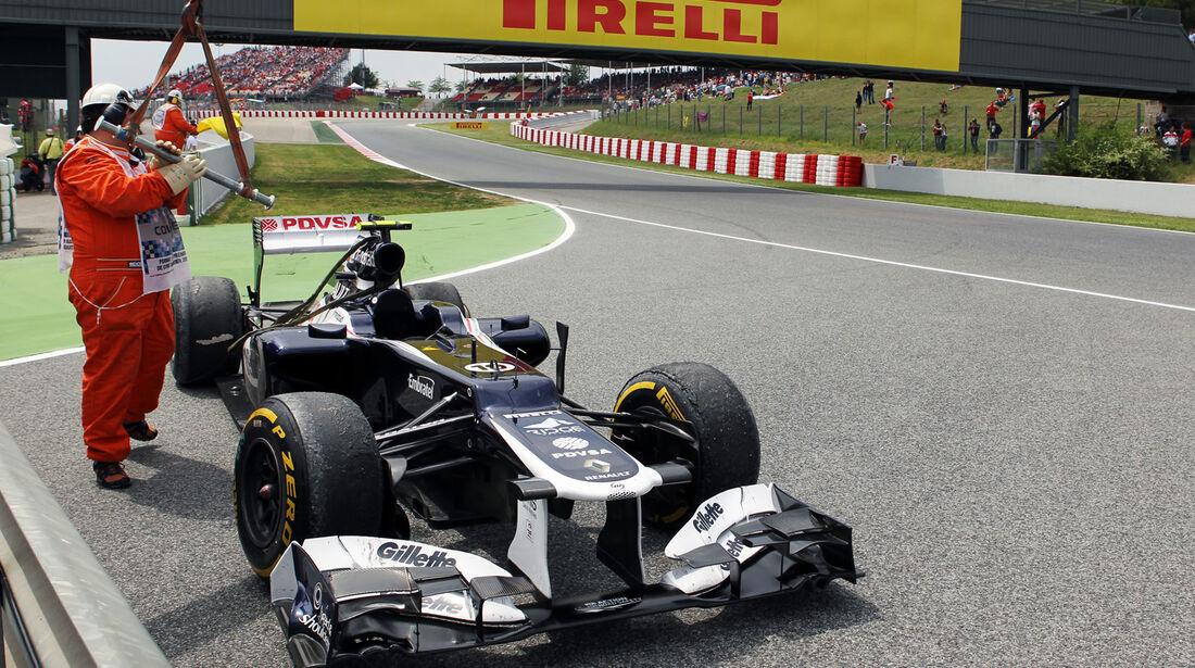 Bruno Senna GP Spanien 2012