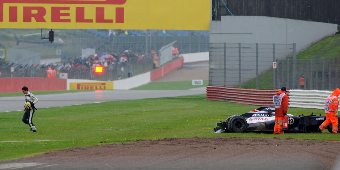Bruno Senna - Williams - Formel 1 - GP England - Silverstone - 6. Juli 2012