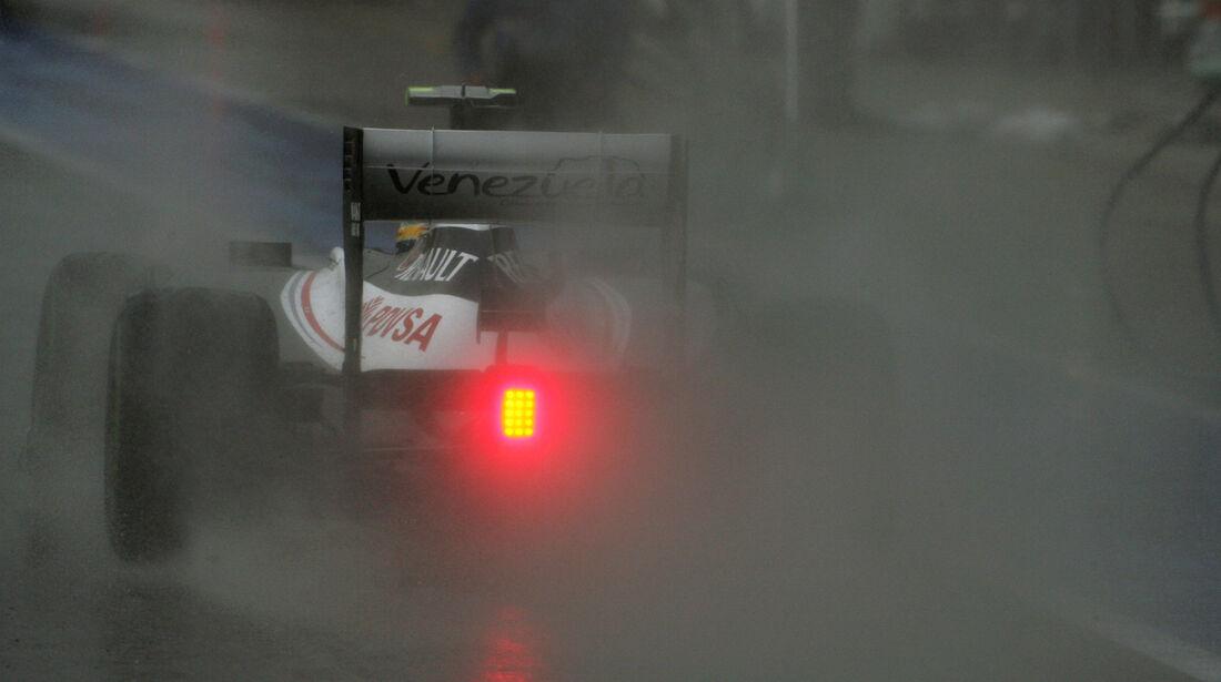 Bruno Senna - Williams - Formel 1 - GP England - Silverstone - 7. Juli 2012