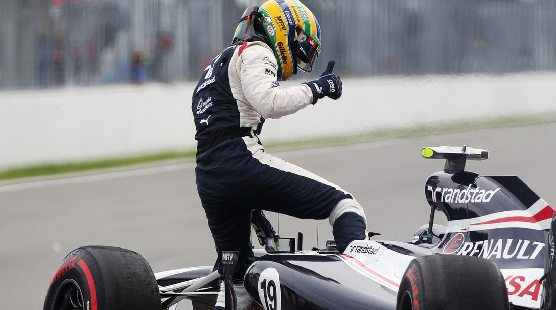 Bruno Senna - Williams - Formel 1 - GP Kanada - 8. Juni 2012
