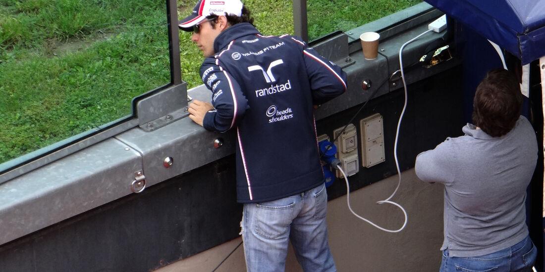 Bruno Senna - Williams - Formel 1-Test - Mugello - 1. Mai 2012
