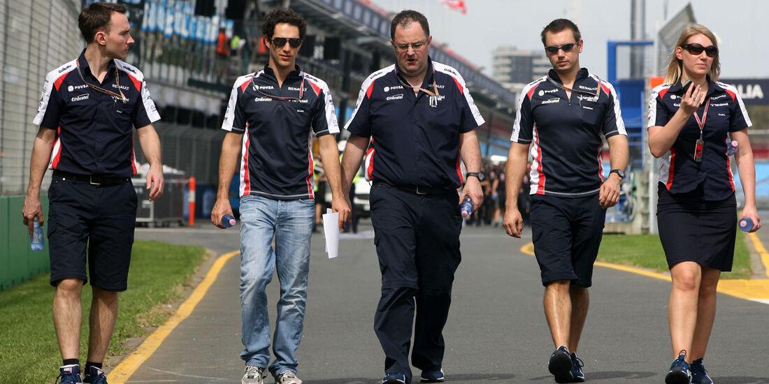 Bruno Senna Williams GP Australien 2012