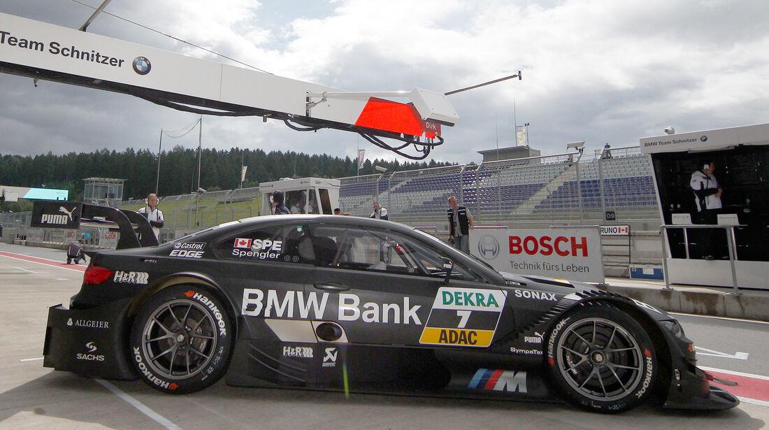 Bruno Spengler Mercedes DTM Spielberg 2012