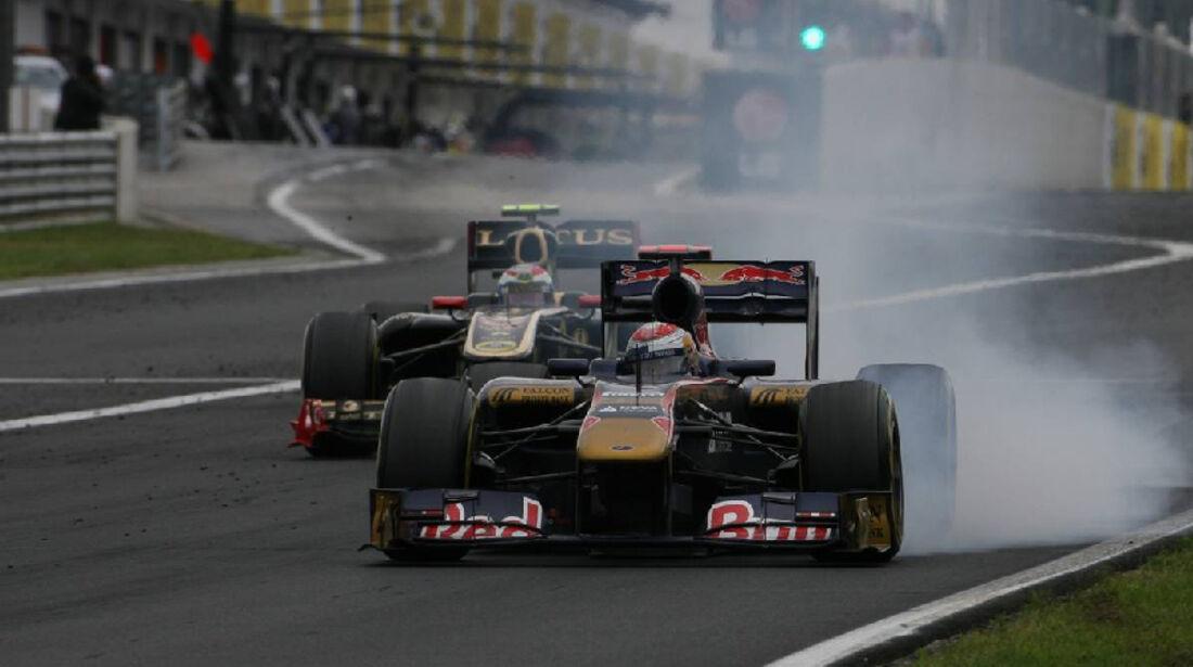 Buemi - Noten - GP Ungarn - Formel 1 - 31.7.2011