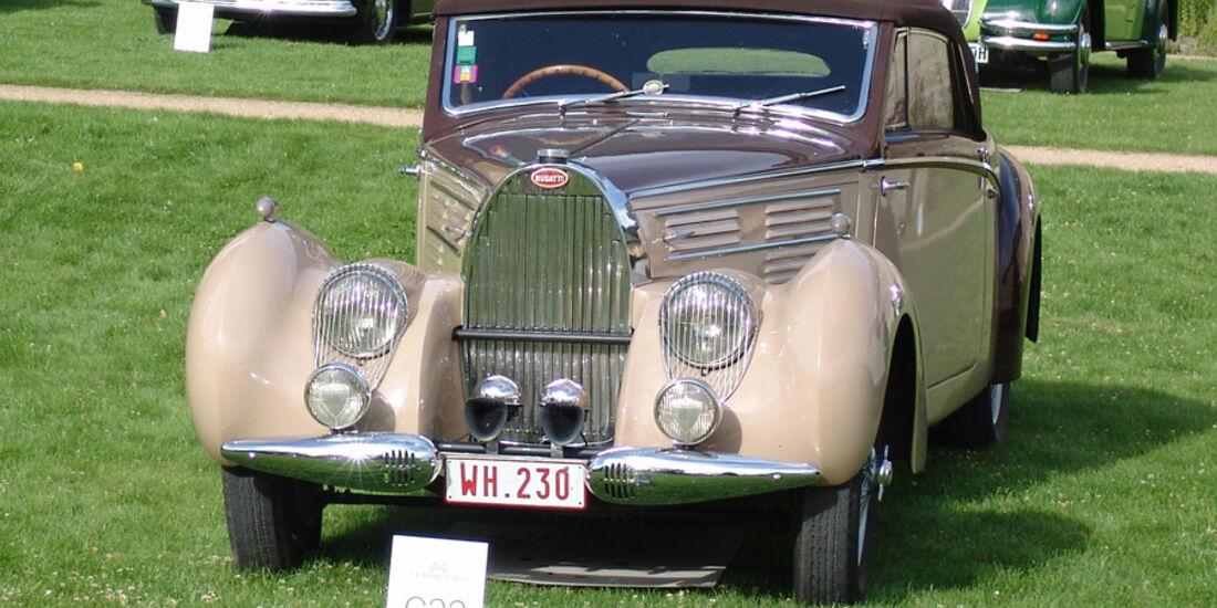 Bugatti 57 C Aravis Cabriolet, Jewels in the Park, Classic Days Schloss Dyck