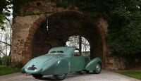 Bugatti 57 C Vanvooren, Heckansicht