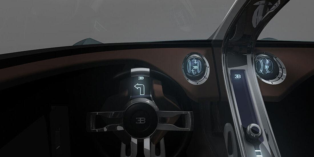 Bugatti Aerolithe Concept Innenraum