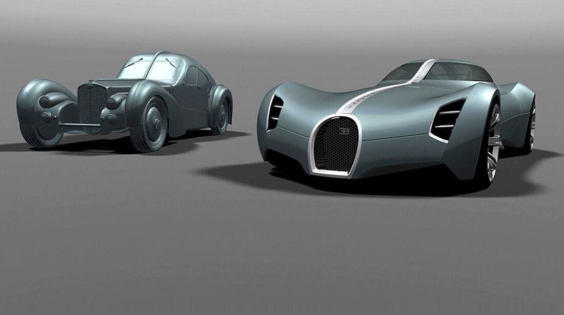 Bugatti Aerolithe Concept