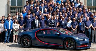 Bugatti Chiron 100.