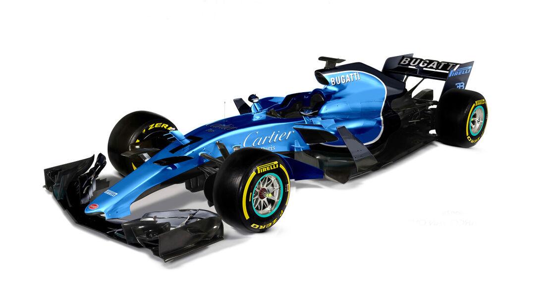 Bugatti - Formel 1 2017 - Designs - Sean Bull
