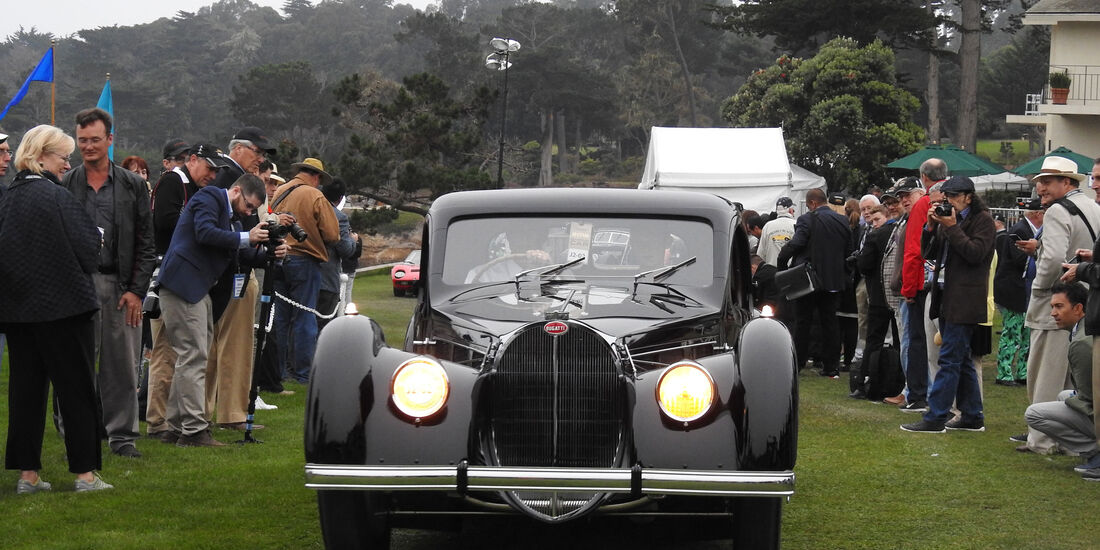 Bugatti - Pebble Beach Concours d'Elegance 2016