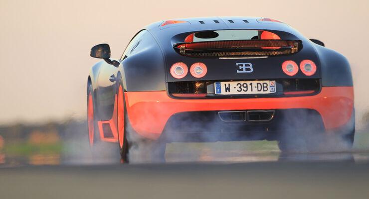 Bugatti Veyron 16.4 Super Sport, Heck