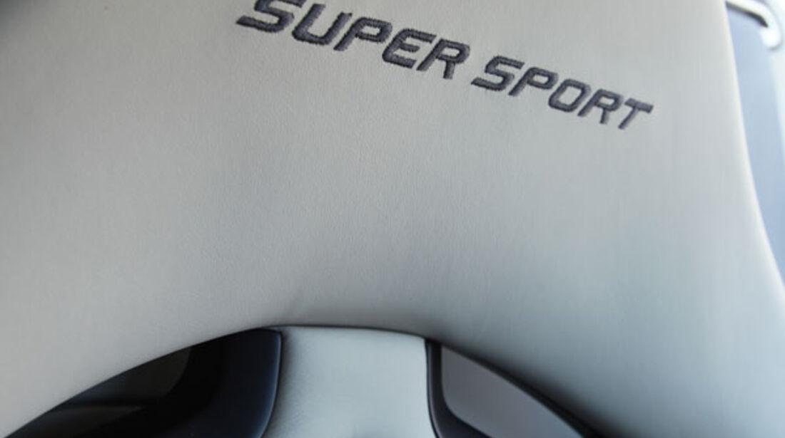 Bugatti Veyron 16.4 Super Sport, Sitz