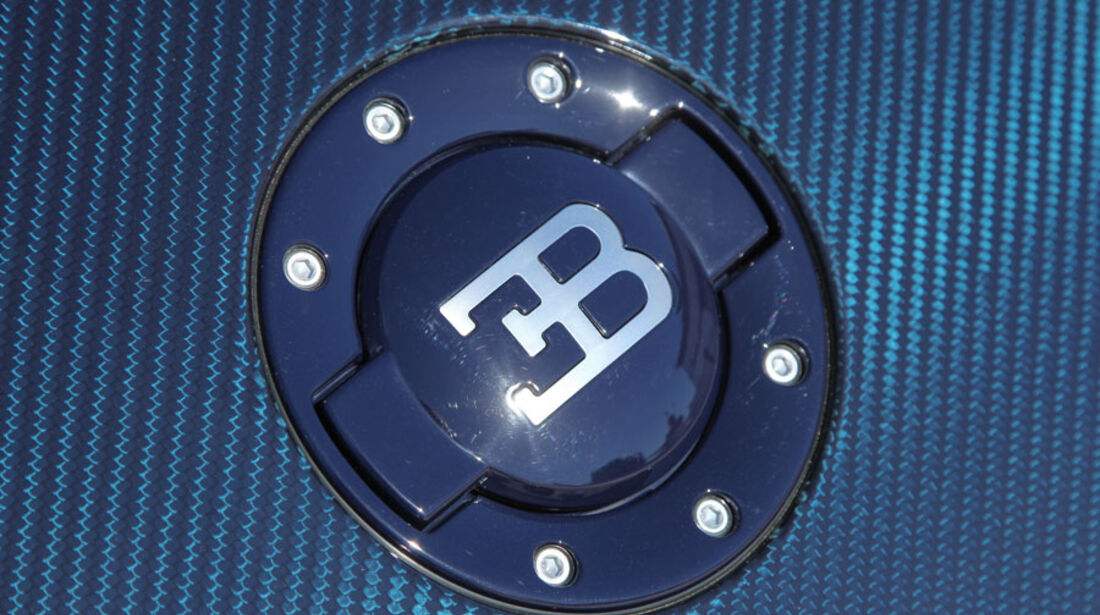 Bugatti Veyron 16.4 Super Sport, Tankdeckel