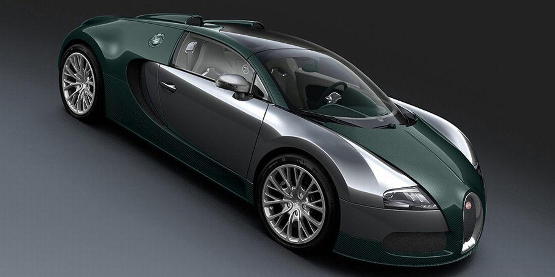 Bugatti Veyron Grand Sport Green