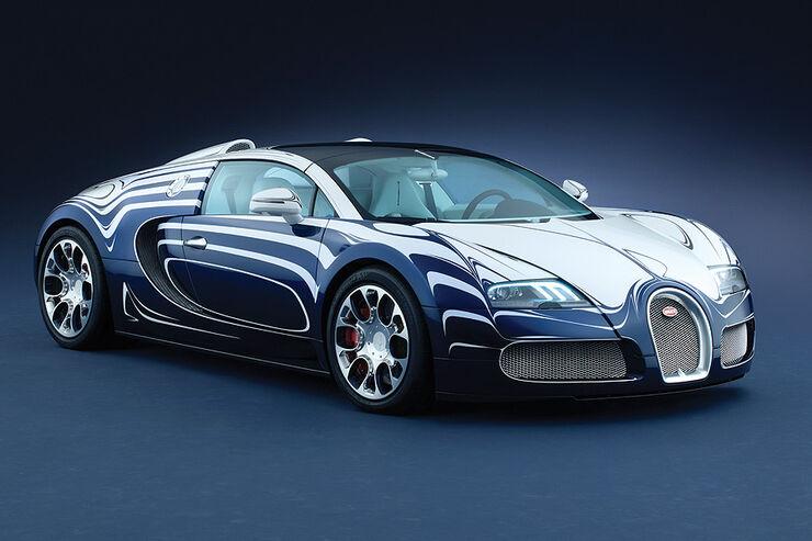 Bugatti Veyron Grand Sport L´Or Blanc