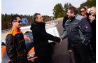 Bugatti Veyron Grand Sport Vitesse, Rekordfahrt, Team