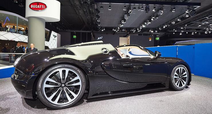 Bugatti Veyron Sondermodell Jean Bugatti