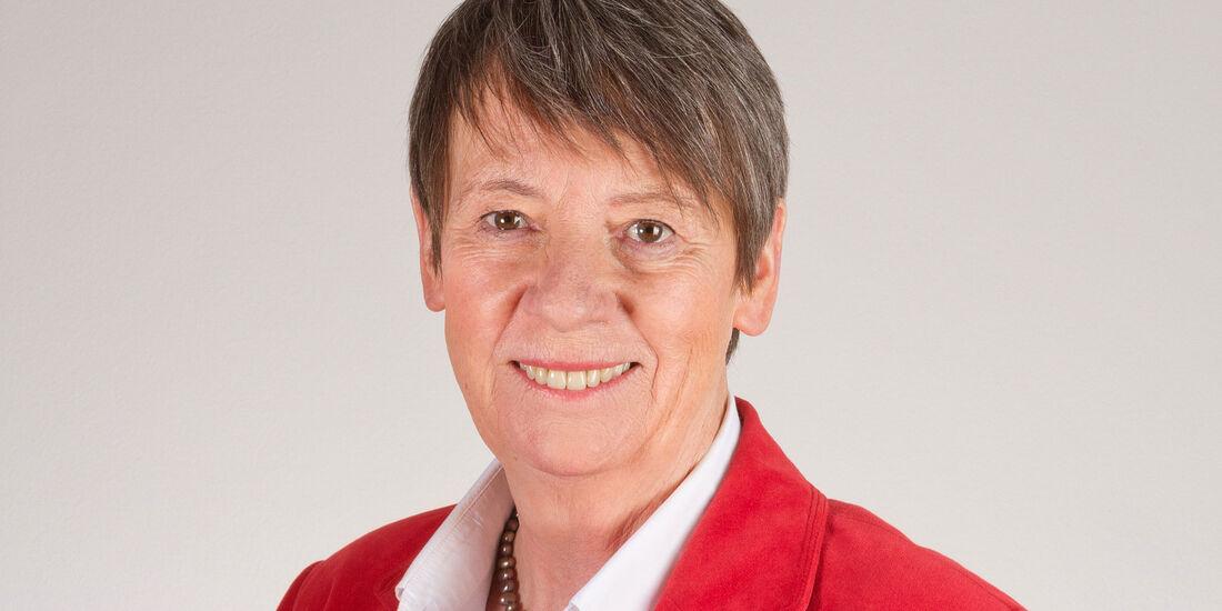 Bundesumweltministerin, Barbara Hendricks, Interview 2025