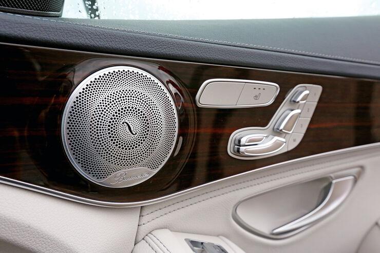 Burmester Soundsystem Gro 223 E B 252 Hne In Der Mercedes C