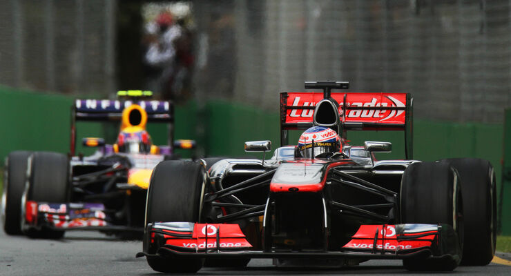 Button GP Australien 2013