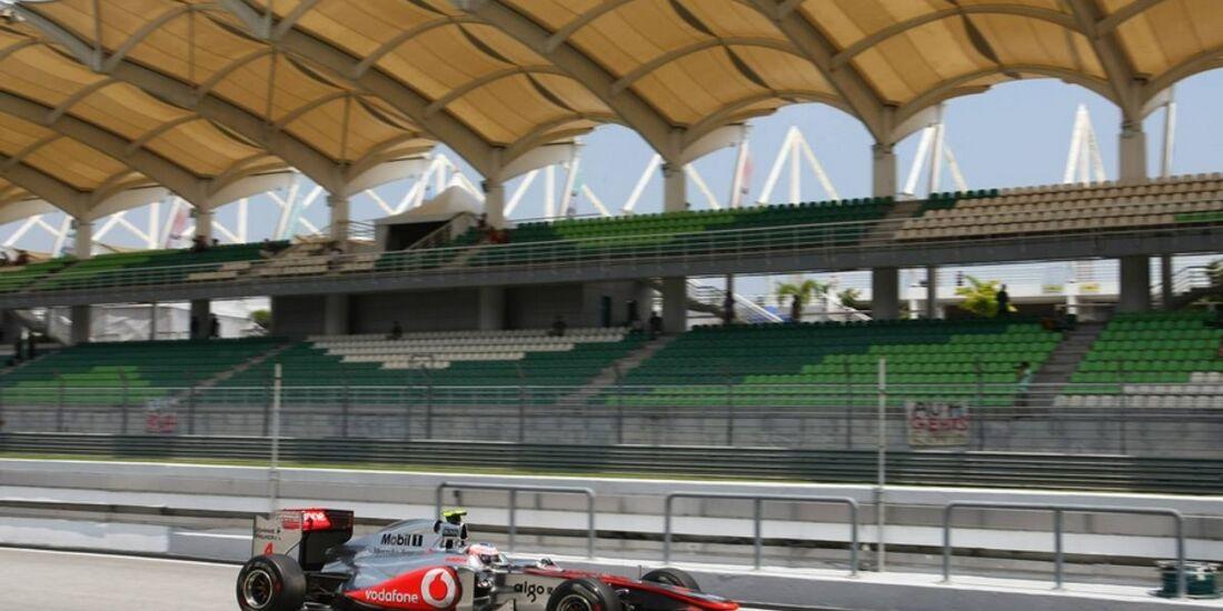 Button GP Malaysia 2011 Formel 1