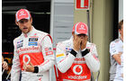 Button & Hamilton GP Brasilien 2012