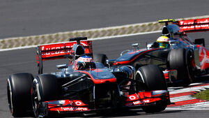 Button & Perez - McLaren - GP Deutschland 2013