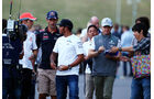 Button, Webber, Hamilton & Rosberg - Formel 1 - GP Japan - Suzuka - 11. Oktober 2013