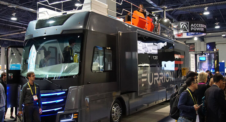 CES 2017, Wohnmobil, Furrion