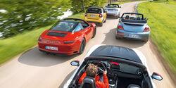Cabrio-Ausfahrt, Alle Fahrzeuge