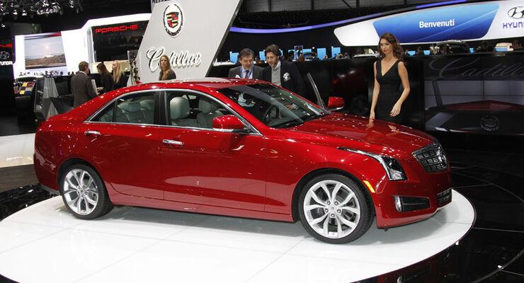 Cadillac ATS Auto-Salon Genf 2012