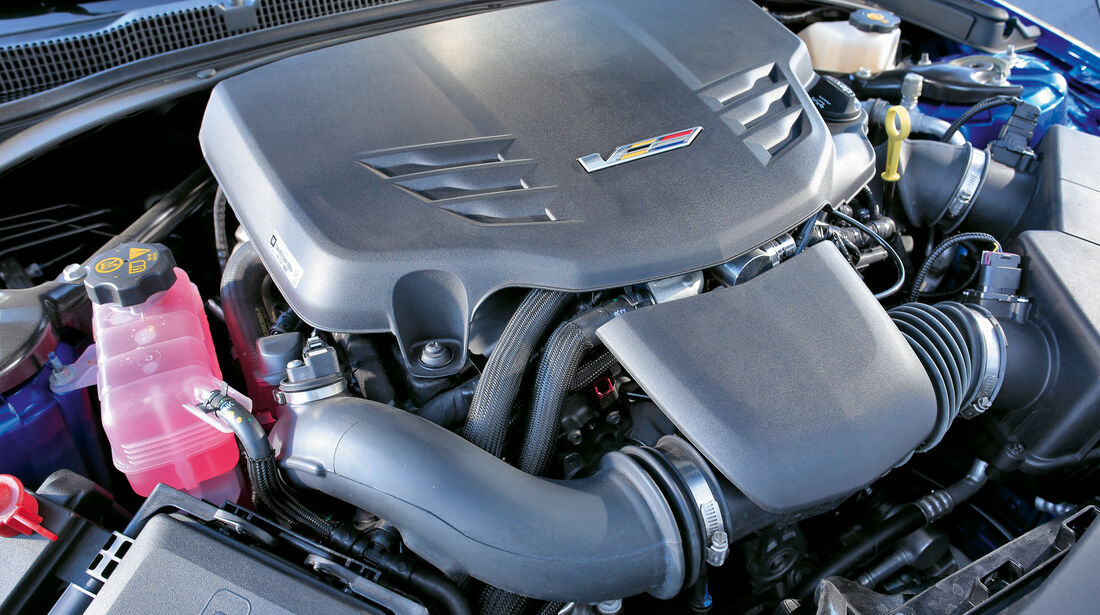 Cadillac ATS-V, Motor